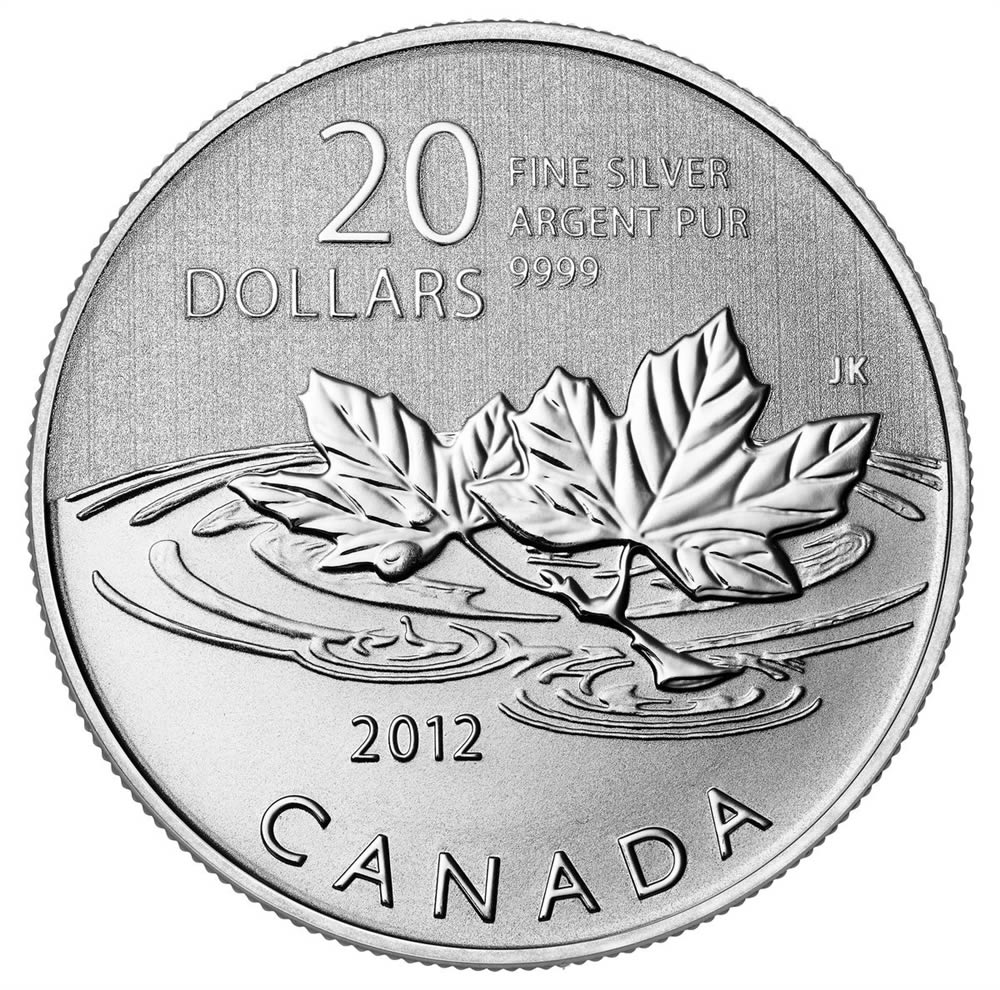 CANADA 2012 $20 Fine Silver Commemorative Coin - Farewell To The Penny - $20 for $20 - #5 In Series